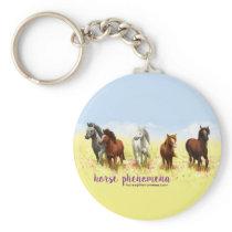 Round Horse Phenomena Keychain