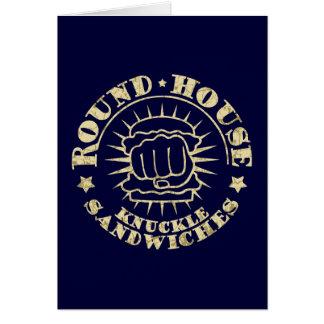 Round House Sandwiches Card