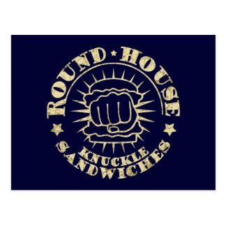 Round House Sandwiches Postcard