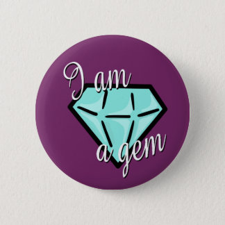 Round I am a gem button