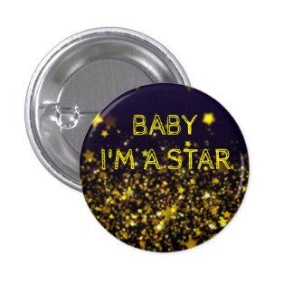 ROUND I'M A STAR BUTTON
