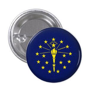 Round Indiana Button