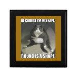 Round is a Shape Jewelry Box
