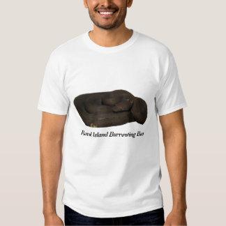 Round Island Burrowing Boa Basic T-Shirt