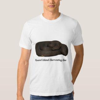 Round Island Burrowing BoaBasic American Apparel T T-Shirt