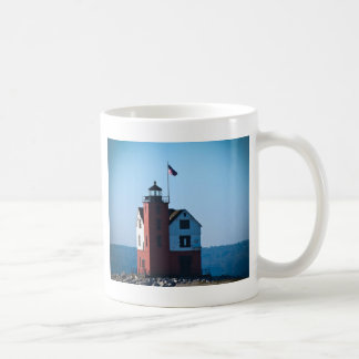 Round Island Lighthouse Coffee Mug