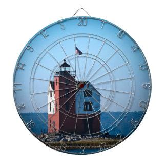 Round Island Lighthouse Dart Boards