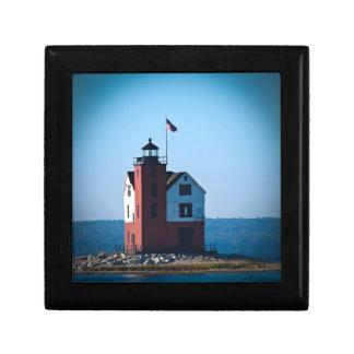 Round Island Lighthouse Gift Box