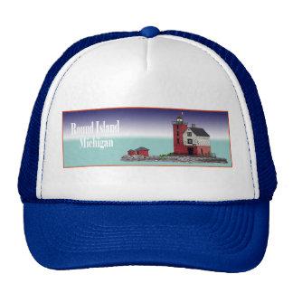 Round Island Lighthouse Trucker Hat