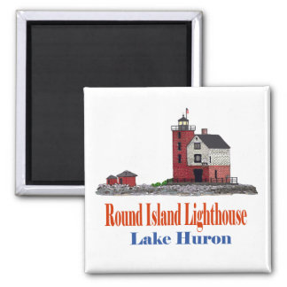 Round Island Lighthouse Magnets