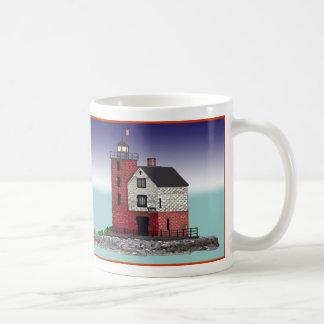 Round Island Lighthouse Mug