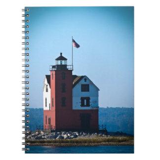 Round Island Lighthouse Notebook