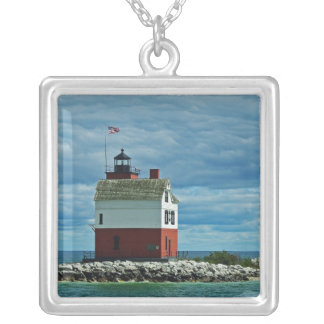 Round Island Lighthouse Pendant