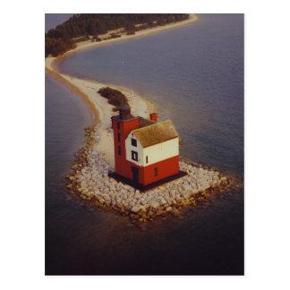Round Island Lighthouse Post Cards
