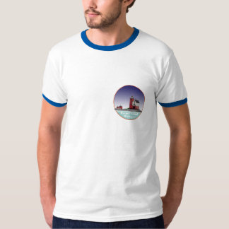 Round Island Lighthouse T-Shirt