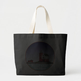 Round Island Lighthouse Tote Bag