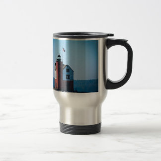 Round Island Lighthouse Travel Mug