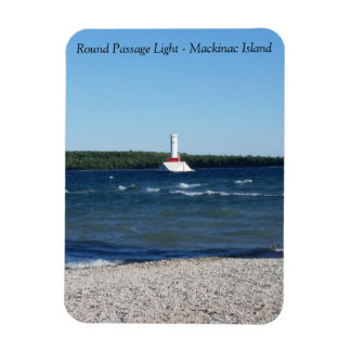 Round Island Passage Light Magnet - Mackinac Islan