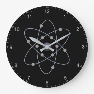 Round (Large) Wall Clock Atom