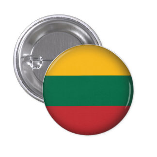 Round Lithuania Pinback Button