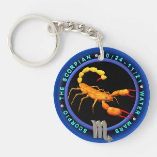 round logo template keychain