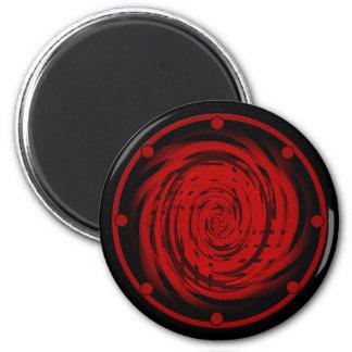 Round Magnet BLACK HOLE SWIRL