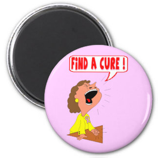 Round Magnet - Breast Cancer Cure