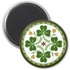 Round Magnet - Irish Good Luck Hex