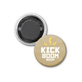 Round Magnet Kick Boom Boom