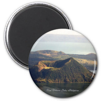 Round Magnet, Taal Volcano Lake Magnet