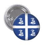 Round Martinique Button