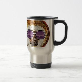 Round Monk Day Travel Mug