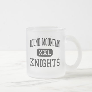 Round Mountain - Knights - High - Round Mountain 10 Oz Frosted Glass Coffee Mug