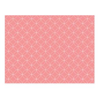 Round n Round - in Pink Postcard