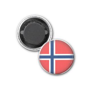 Round Norway Magnet
