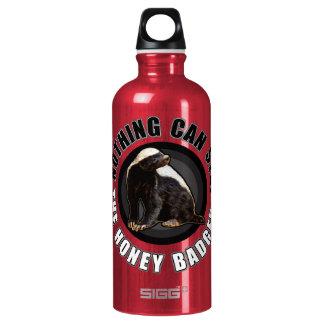 Round Nothing Can STOP the Honey Badger Design SIGG Traveler 0.6L Water Bottle