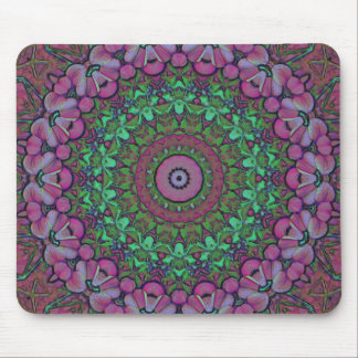 Round of Flowers Mousepad