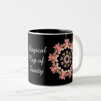 Round of Pink Roses -Magical Cup of Sanity