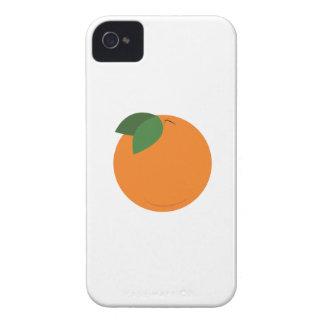 Round Orange iPhone 4 Case