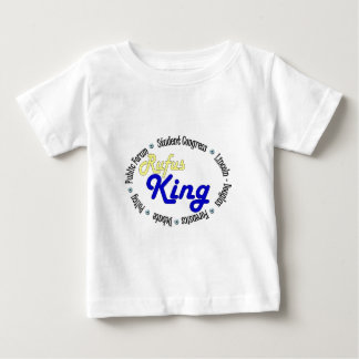 Round Oval Rufus King Debate/Congress/Speech Baby T-Shirt