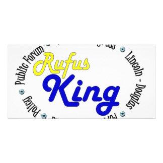 Round Oval Rufus King Debate/Congress/Speech Card