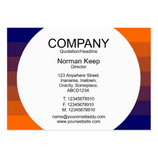 Round Panel - Color Transition 03 Business Card