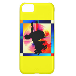 Round Peg in a Square Hole iPhone 5C Cover