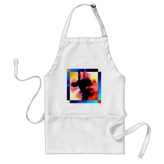Round Peg in a Square Hole Skateboarding Apron
