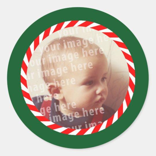 Round Photo Frame Classic Round Sticker