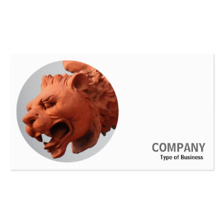 Round Photo - Terracotta Beast Business Card
