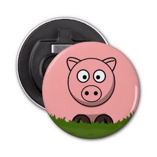 Round Pig Bottle Opener