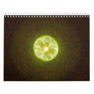 Round Planetary Nebula IC 3568.ai Calendar