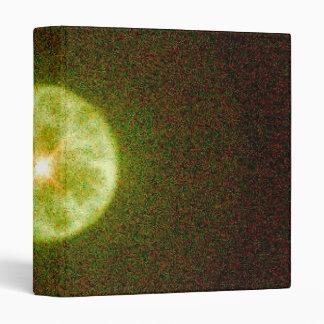 Round Planetary Nebula IC 3568 Vinyl Binders