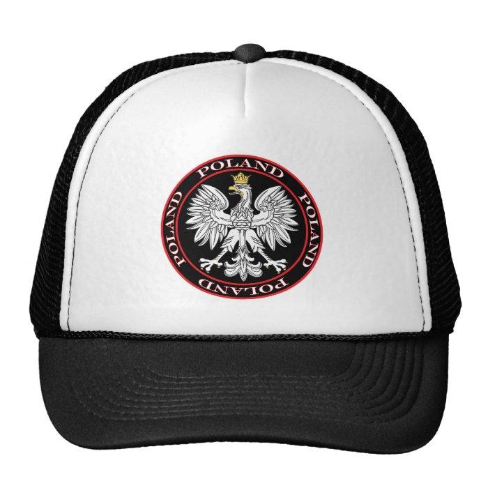 Round Polish Eagle Trucker Hat